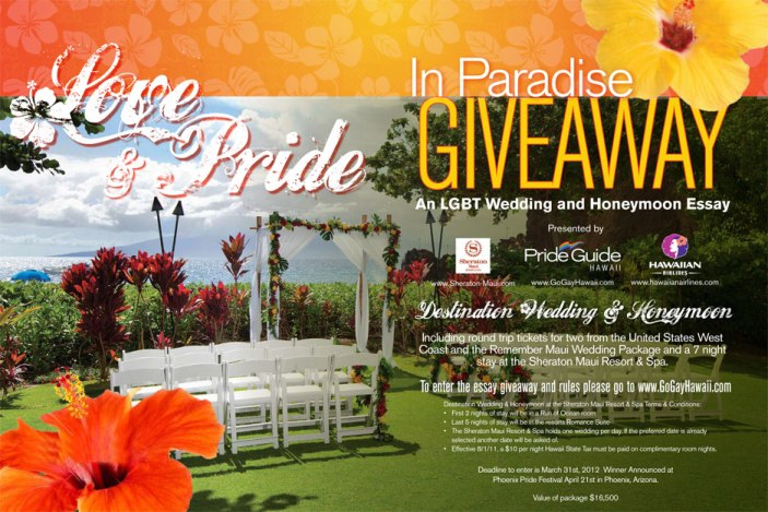 Gay Hawaii Wedding Giveaway
